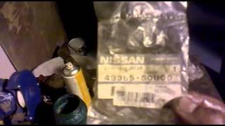 видео замена сальника рулевой рейки