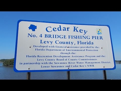 Pier & Bank Fishing In Cedar Key Florida