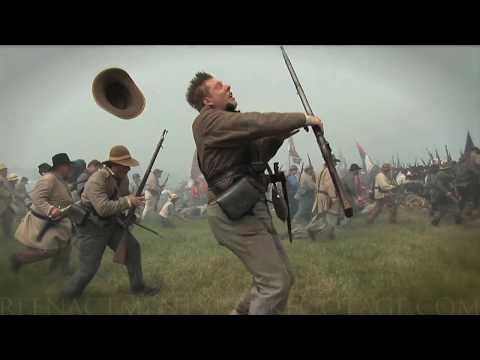2018 HD Civil War Stock Footage REEL - Reenactment Stock Footage.com