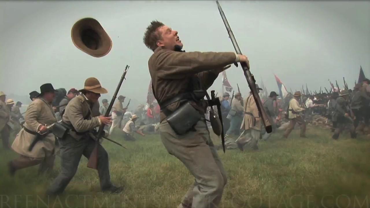 2018 HD Civil War Stock Footage REEL - Reenactment Stock Footage com