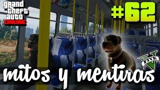 GTA V - Mitos y mentiras #62 | Arrestan a chop y va como preso!!  Fisicas de GTA y mas...