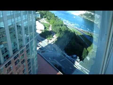 The Tower Hotel Room Tour (Queen Size) in Niagara Falls, Ontario includes Lobby
