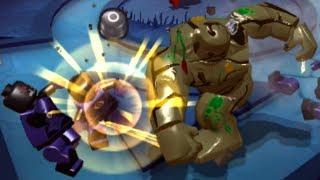 Lego Batman 3: Beyond Gotham (PS Vita/3DS/Mobile) Swamp Thing Gameplay