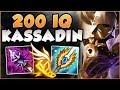 WTF! ADC KEYSTONE ON KASSADIN IN TOP LANE?? 200 IQ KASSADIN IS GENIUS! - League of Legends Gameplay