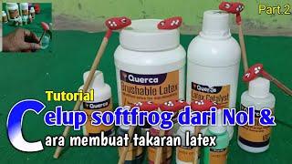 Querca Liquid Latex Instan. Latex Cair 900 ml. Bikin Soft Frog tinggal Celup