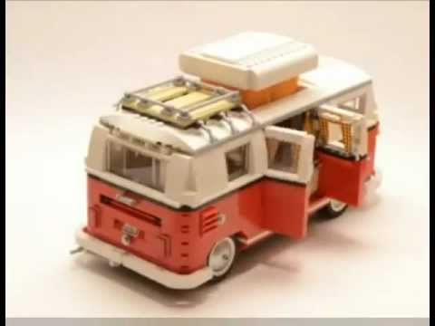 new volkswagen combi build by lego youtube. Black Bedroom Furniture Sets. Home Design Ideas
