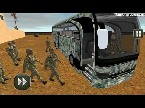 army bus driving 2017 - military coach transporter -  Free Car Games To Play  New Android Games thumbnail