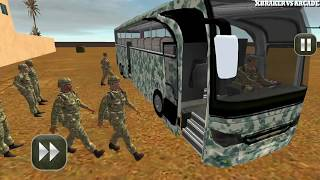 army bus driving 2017 - military coach transporter -  Free Car Games To Play  New Android Games