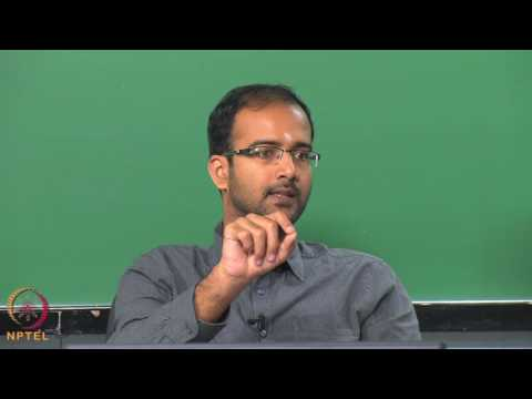 Micro and Nano scale energy transport-Week11lec03