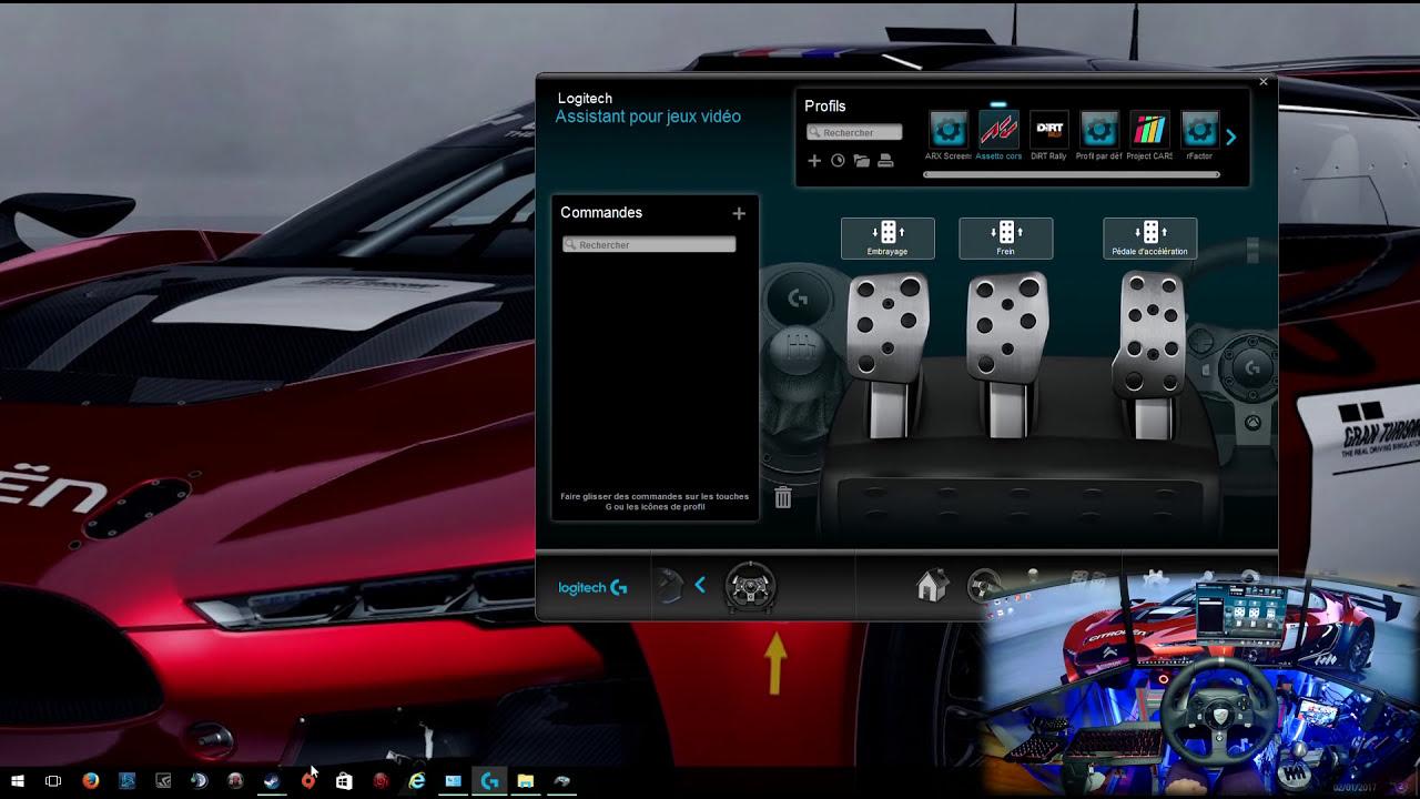 Comment Régler Son Volant G920 | Th8a | Handbrake Fanatec  Pk Eagle_gaming  18:55 HD