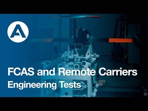 FCAS and Remote Carriers: launch from an A400M - Engineering Tests