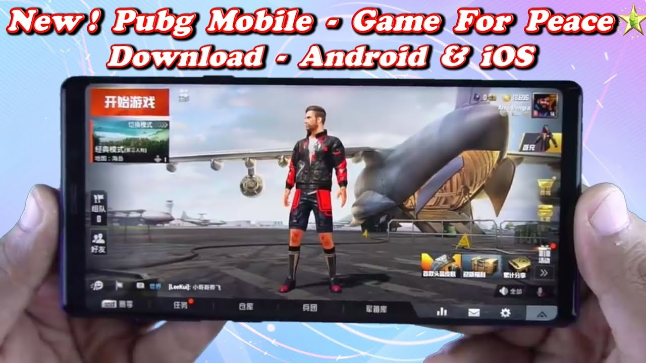 Game For Peace-New Pubg Mobile Apk+data Download On Android | Pubg  Mobile-Game For Peace Gameplay