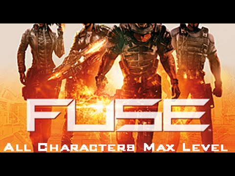 PS3] Fuse *All Characters Max Level Save* - YouTube