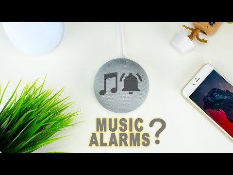 How To Set Music Alarm With Google Home Mini?