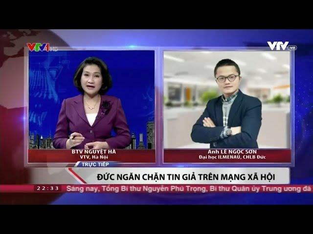 VTV1_Chuyên gia Lê Ngọc Sơn bàn về cách thức ngăn chặn tin giả và tin thù địch