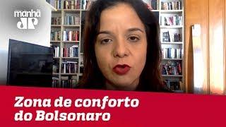 Bolsonaro reavalia participação em debates para ficar dentro de zona de conforto | Vera Magalhães