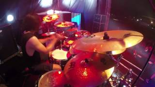 [Drum Cam] BURGERKILL - Shadow Of Sorrow + House Of Greed (live at Rockin' Noizee 2017)