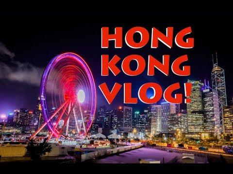 Hong Kong Harbour from Victoria Peak at night - Hong Kong Vlog   037