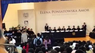 Elena Poniatowska en la UNACH