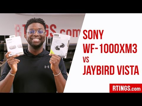 Sony WF-1000XM3 vs Jaybird Vista - RTINGS.com