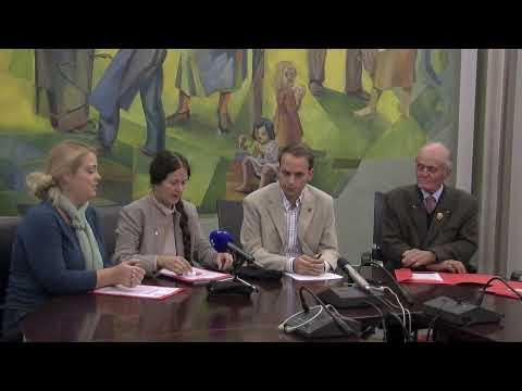 Pressekonferenz zu den faschistischen Relikte in Süd-Tirol