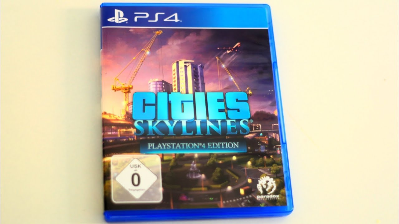 Cities Skylines PS4 unboxing – Kids YouTube