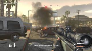 Let's Play Battle Los Angeles The Game [HD/DE/Hard] Part 1 Welcome in L.A