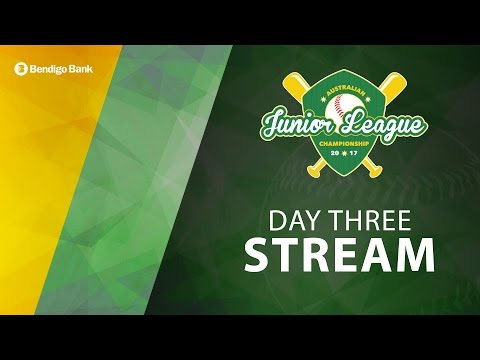 DAY THREE, 2017 Australian Junior League Championships