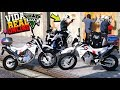 2 ROCAM EMBAÇOU NA BMW R1200 DO FAVELADO no GTA 5 : VIDA REAL #68