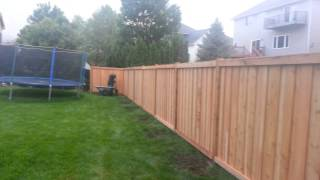Picture Frame Batten Board Privacy Fence Coon Rapids, Mn