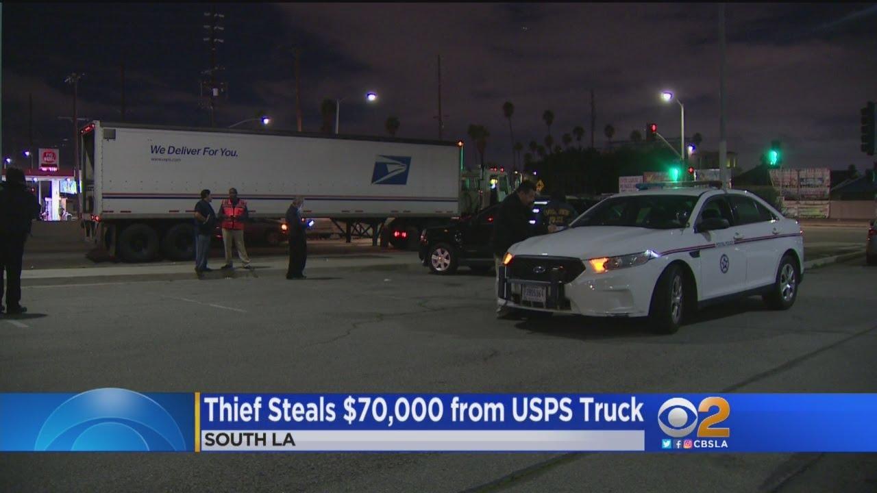 Postal truck driver robbed of $70,000 at gunpoint