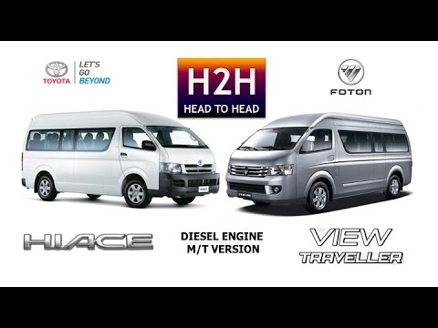 Head2Head 56 Toyota Hi Ace vs Foton View