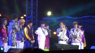 130119 Exo - interview and speaking tagalog @ DKFC