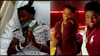Kodak Black Affiliate Knock Out Cold &Rush To The Hospital Emergency Room..DA PRODUCT DVD