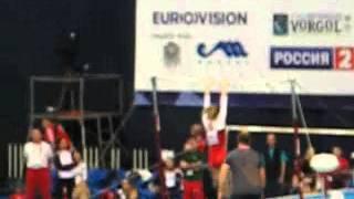 Ксения Афанасьева, брусья, Чемпионат Европы 2013