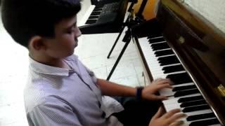 Tamim Khaldoun playing ABRSM Gr1 B