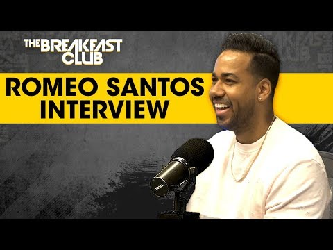 Romeo Santos Talks State of Dominican Republic,  Kissing Fans + Fatherhood