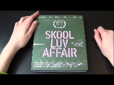Unboxing BTS (Bangtan Boys) 방탄소년단 2nd Mini Album Skool Luv Affair
