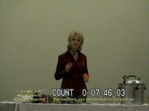 Wendy Dewitt Food Storage Seminar Part 1 Of 9 Top 10 Reasons You