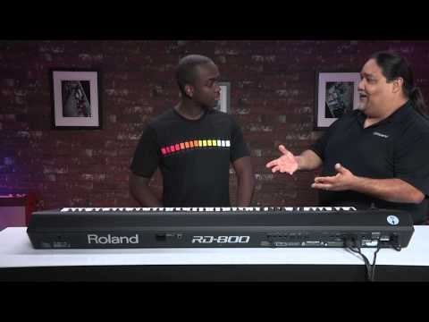 Synth Kitchen RD-800 - How to create custom Piano sound with Delvyn Brumfield