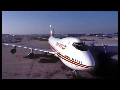 TWA-TRANS WORLD AIRLINES B747 HISTORY 1970-1996