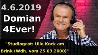 Studiogast: Ulla Kock am Brink (Wdh. vom 25.03.2000) - Domian4Ever 2019-06-04 📻