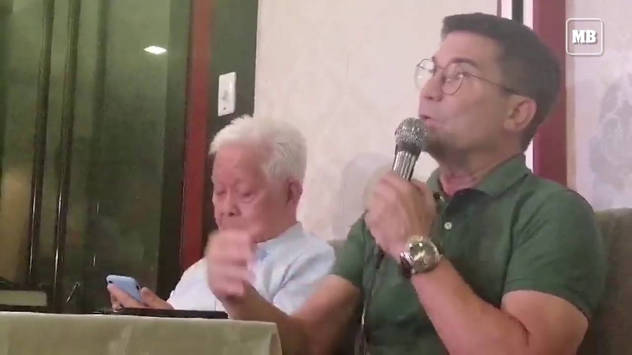 Actor Edu Manzano holds a press conference to clarify the issue on his citizenship