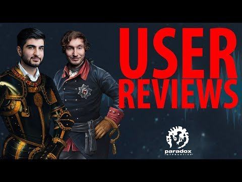 User Reviews - The Business Of Video Games - Paradox Podcast