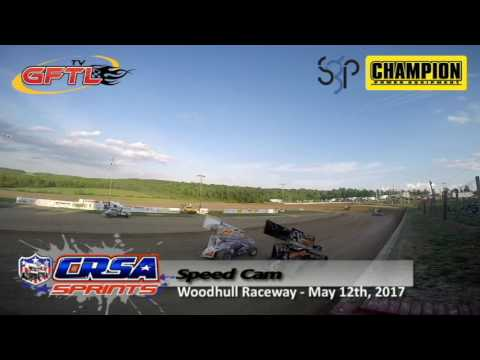 CRSA Sprints Super Gen Champion Generators Speed Cam @ Woodhull Raceway 6/10/17 - Heat Race #1