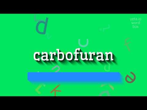 "How to say ""carbofuran""! (High Quality Voices)"