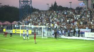 ФК Севастополь, Первый гол на новом стадионе.