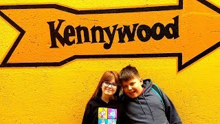 KENNYWOOD AMUSEMENT PARK // PITTSBURGH FAMILY VACATION