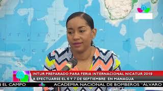 Multinoticias | INTUR preparada para la Feria Internacional de Turismo de Nicaragua