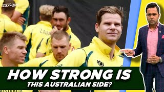 How STRONG is this AUSTRALIAN side?   #AakashVani   #INDvAUS ODI Series Preview